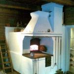 Русско-финская печь