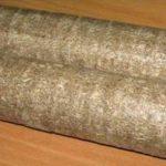 Круглые брикеты из опилок
