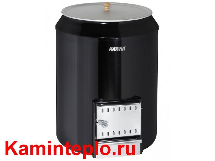 Печка бак для нагрева воды в дымовой бане